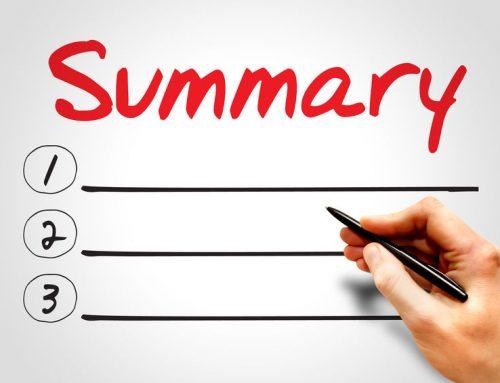 How to Write A Succinct Resume Summary
